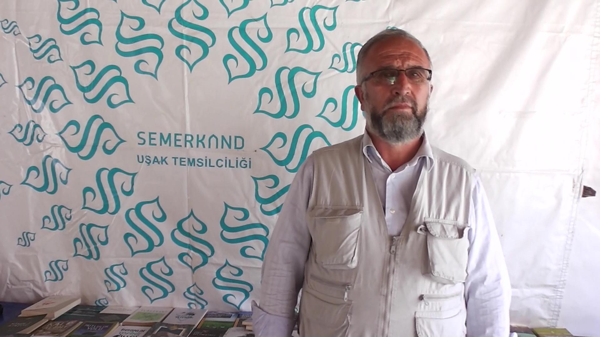 Semerkant Uşak il kermes sorumlusu Mehmet Dağıstanlı düzenlenen kermes hakkında bilgiler verdi
