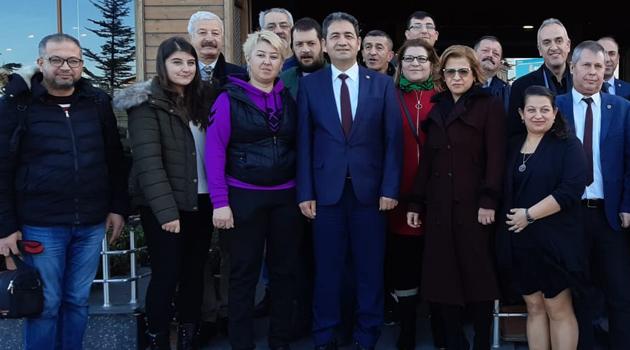 """Türk Sağlık Sen Uşak Şube Başkanı Mehmet Özkuk """"Bize Baskı Uyguluyorlar"""""""