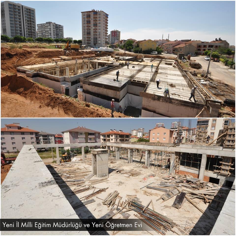 Uşak Belediyesi'nin , şehrin farklı noktalarında çalışmaları hız kesmeden devam ediyor.