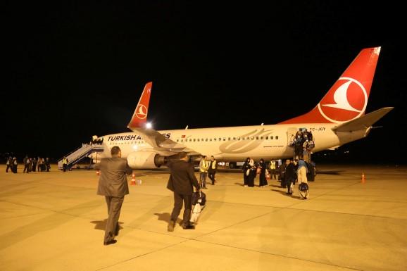 Uşak Havalimanından Kutsal Topraklara Bir İlk