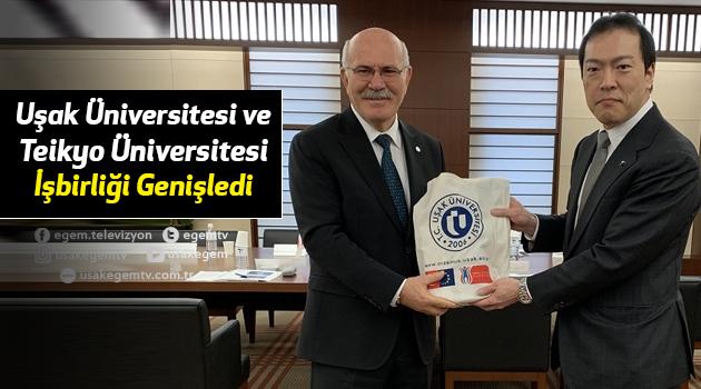 Uşak Üniversitesi ve Teikyo Üniversitesi Arasındaki İşbirliği Genişledi
