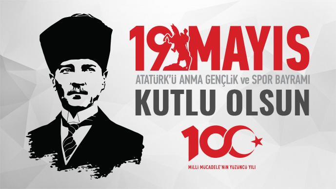 Uşak'ın Önde Gelen İsimleri 19 Mayıs Atatürk'ü Anma, Gençlik ve Spor Bayramını kutladı