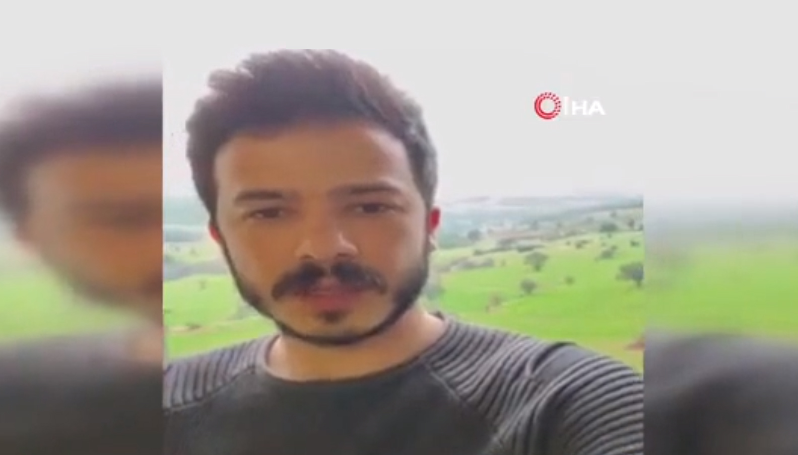 Uşak'taki KYK yurduna getirilen Yücel Çakmak, geldiği süre boyunca yaşadıklarına ilişkin video çekip yayınladı .