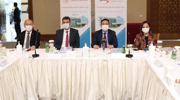 Vali Funda Kocabıyık, Zafer Kalkınma Ajansı Yönetim Kurulu toplantısına   katıldı.