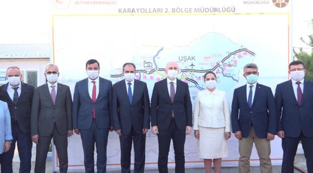 Ulaştırma ve Altyapı Bakanı Adil Karaismailoğlu, Uşak'ta!