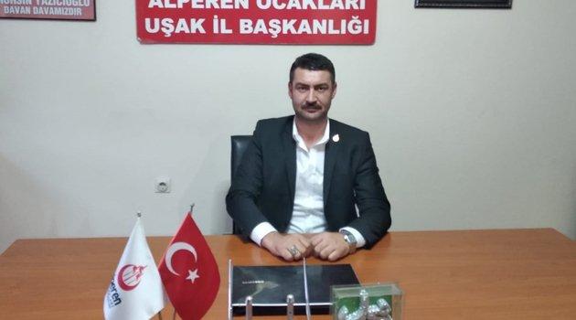 Uşak Alperen Ocakları Başkanı Ali Karaca, Tüm İslam Aleminin Mevlid Kandilini Kutladı.