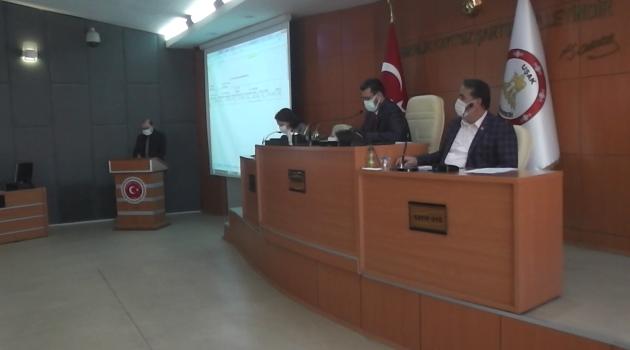 Uşak İl Genel Meclisi  2020 Kasım Ayı Olağan Toplantısı 20. Birleşimi Yapıldı.