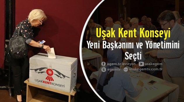 Uşak Kent Konseyi Yeni Başkanını ve Yönetimini Seçti...