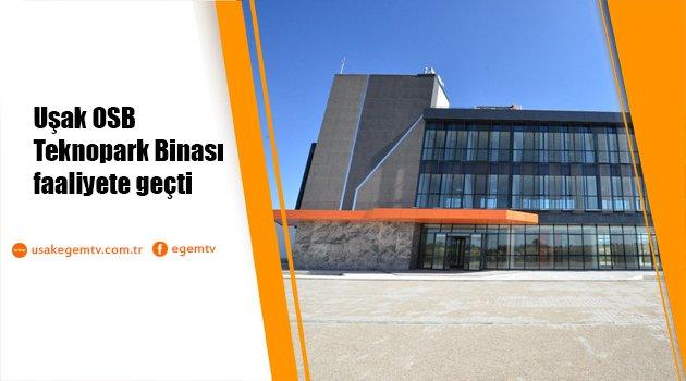 Uşak OSB Teknopark Binası faaliyete geçti