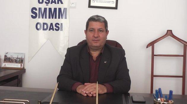 """Uşak SMMMO Başkanı Mustafa Mıdık """"TÜRMOB ile 'E-Dönüşüm' Konusunda Eğitim Planlıyoruz"""""""
