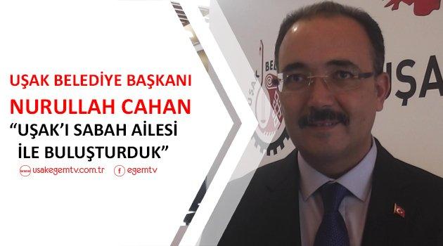 """""""Uşak'ı hemşehrilerimiz adına Sabah Ailesi ile buluşturduk"""""""