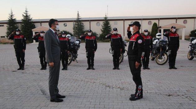 Uşaklı Hemşehrimiz Kütahya Valisi Ali Çelik, Motosikletli Polis Timleri (Yunus) Kuruluş ve Sertifika Törenine katıldı.
