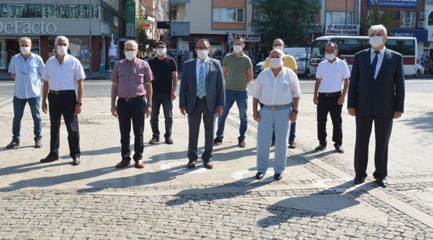 Uşak'ta Ahilik Haftası Etkinlikleri Kapsamında Çelenk Bırakıldı