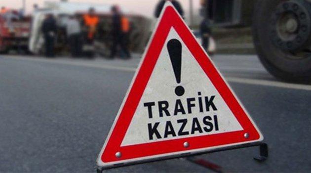 Uşak'ta Trafik Kazası!