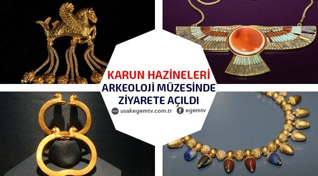Yeni Uşak Arkeoloji Müzesi Ziyarete Açıldı