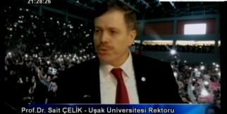 Uşak Üniversitesi Rektörü Sait Çelik Egem Özel