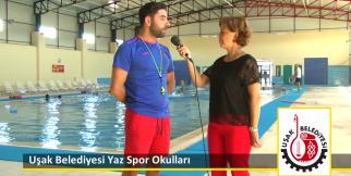 Uşak Belediyesi Yaz Spor Okulları