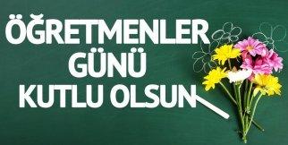 24 Kasım Öğretmenler Günü - Kutlama