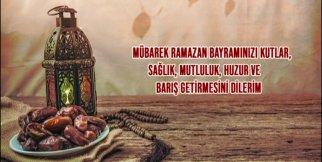 Uşak'ın Önde Gelen İsimleri Ramazan Bayramını Kutladı.