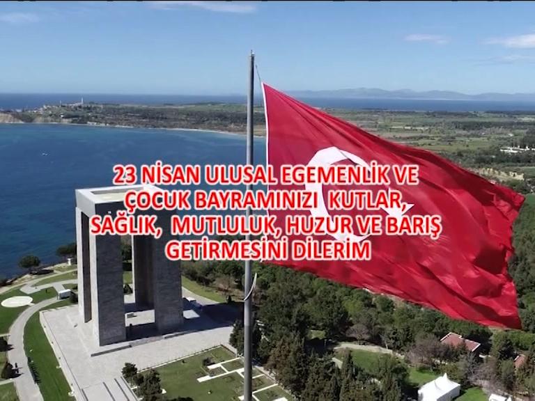 Uşak'ın önde gelen isimleri, 23 Nisan Ulusal Egemenlik ve Çocuk Bayramını Kutladı