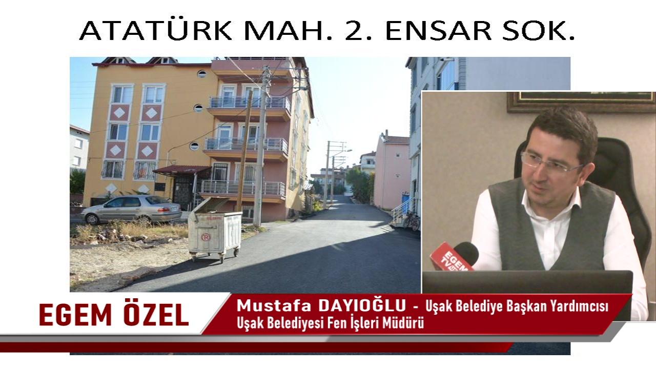 Uşak Belediye Başkan Yardımcısı Mustafa Dayıoğlu