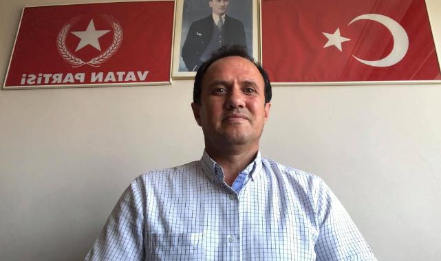 Vatan Partisi Uşak il başkanı Hasan Öktem